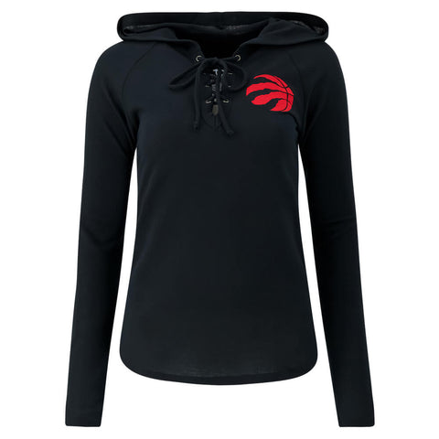 TOUCH BY ALYSSA MILANO WOMEN'S TORONTO RAPTORS SOARING PUCK PULLOVER HOODY
