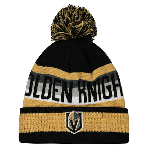 OUTERSTUFF YOUTH LAS VEGAS GOLDEN KNIGHTS BLUELINE TOQUE