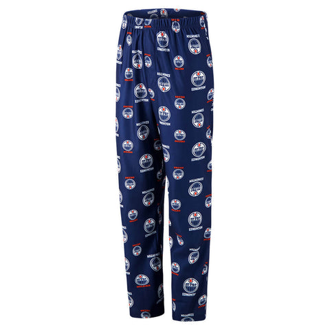 OUTERSTUFF YOUTH EDMONTON OILERS TEAM COLOURED PRINT PANT