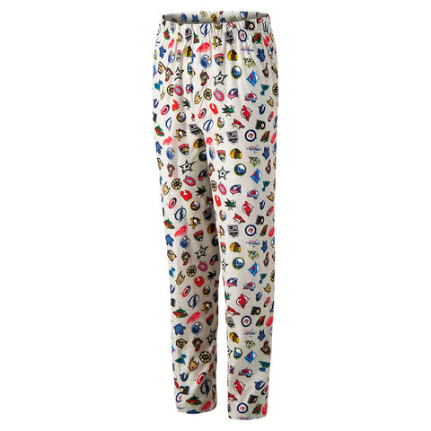 OUTERSTUFF YOUTH NHL TEAM LOGO PRINT PANT