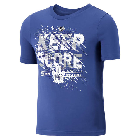 OUTERSTUFF 4-7 TORONTO MAPLE LEAFS KEEP SCORE SHORT SLEEVE TOP