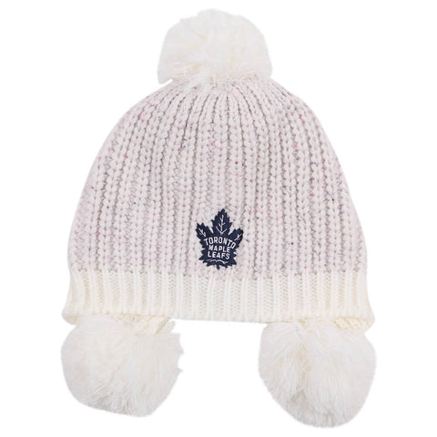 OUTERSTUFF YOUTH GIRLS TORONTO MAPLE LEAFS MULTI POM TOQUE