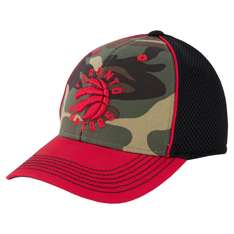 OUTERSTUFF YOUTH TORONTO RAPTORS CAMO STRUCTURED SNAP CAP CAMO