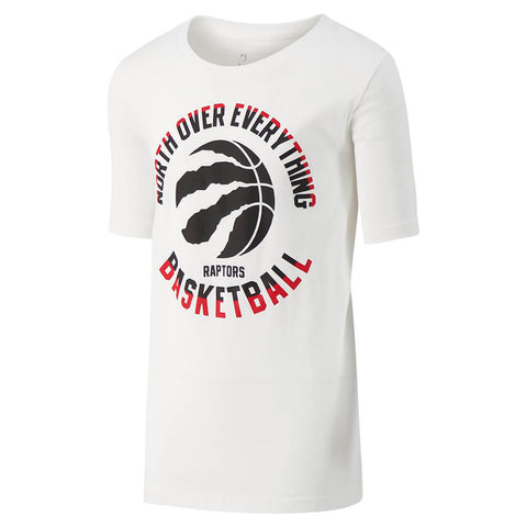 OUTERSTUFF YOUTH TORONTO RAPTORS MY LOCAL TEAM SHORT SLEEVE TOP WHITE