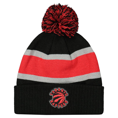 OUTERSTUFF YOUTH TORONTO RAPTORS RUGBY CUFFED KNIT POM BEANIE