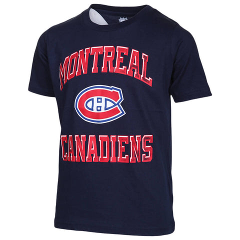 OUTERSTUFF YOUTH MONTREAL CANADIENS POWER SHORT SLEEVE TOP