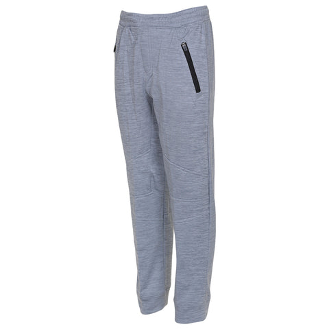 BURNSIDE BOY'S FLEECE EFFECT JOGGER LIGHT GREY