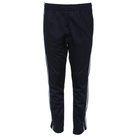 BURNSIDE BOY'S OPEN HEM TRICOT PANT NAVY
