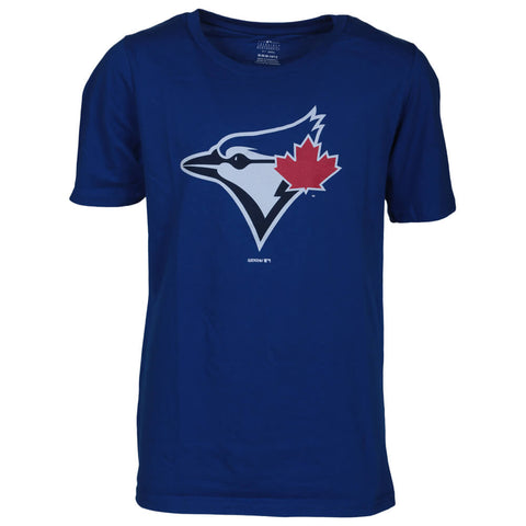 OUTERSTUFF BOYS TORONTO BLUE JAYS PRIMARY LOGO SHORT SLEEVE TOP BLUE