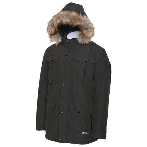 MISTY MOUNTAIN MEN'S THRUSH INSULATED PARKA ARMY
