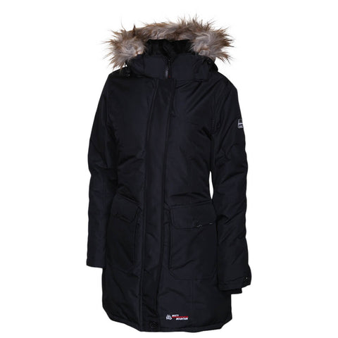 MISTY MOUNTAIN WOMEN'S ESSEX INSULATED PARKA BLACK