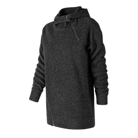 NEW BALANCE WOMENS' REVITALIZE HOODIE BLACK