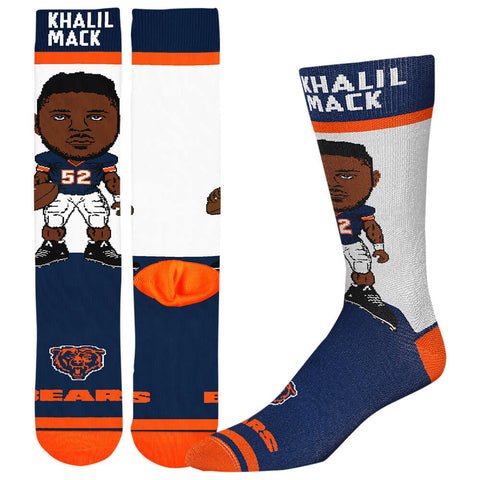 FBF ORIGINALS MEN'S CHICAGO BEARS NFL # PLAYER SOCKS MACK