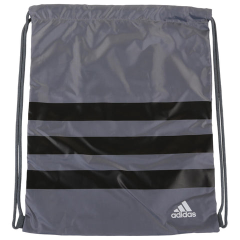 ADIDAS 3 STRIPE TOTE BAG GREY FLAT