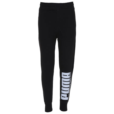 PUMA BOY'S FRENCH TERRY JOGGER PUMA BLACK