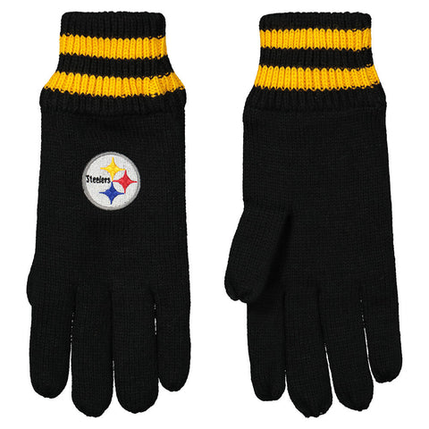 GERTEX MEN'S PITTSBURGH STEELERS NFL THERMAL GLOVES