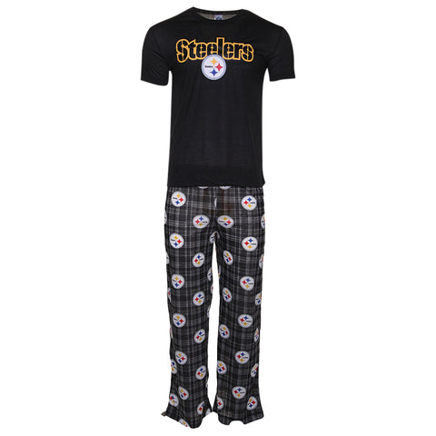 GERTEX MEN'S STEELERS NFL LOUNGE PANT SET