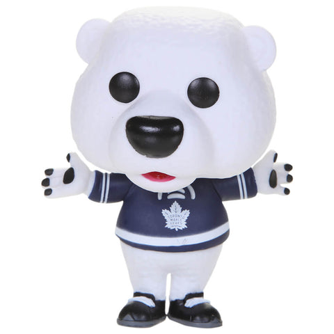 GROSNOR LEAFS CARLTON THE BEAR MASCOT NHL FUNKO