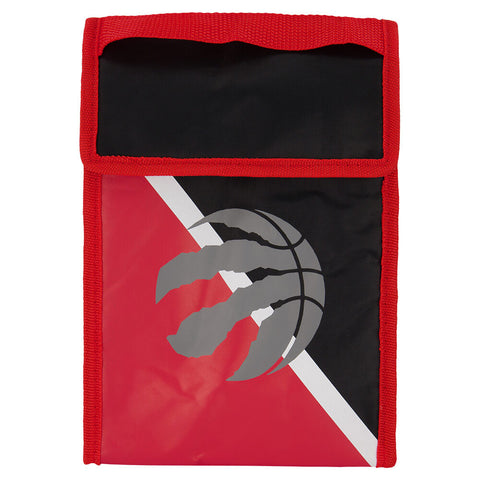 FOREVER COLLECTIBLES TORONTO RAPTORS TWO TONE VELCRO LUNCH BAG