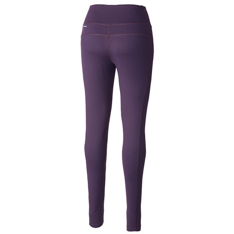 COLUMBIA WOMEN'S BACK BEAUTY HIGHRISE KNIT LEGGING DARK PLUM
