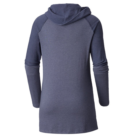 COLUMBIA WOMEN'S EASY GOING II LONG SLEEVE COWL NOCTURNAL