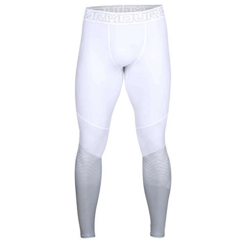 UNDER ARMOUR MEN'S VANISH LEGGING WHITE