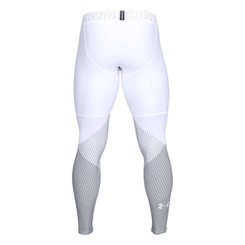 UNDER ARMOUR MEN'S VANISH LEGGING WHITE BACK