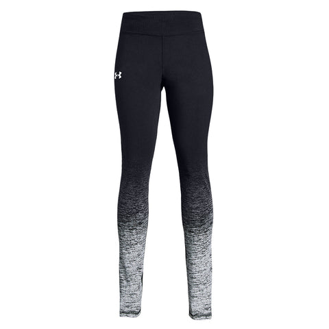 UNDER ARMOUR GIRL'S FINALE GRADIENT LEGGING BLACK