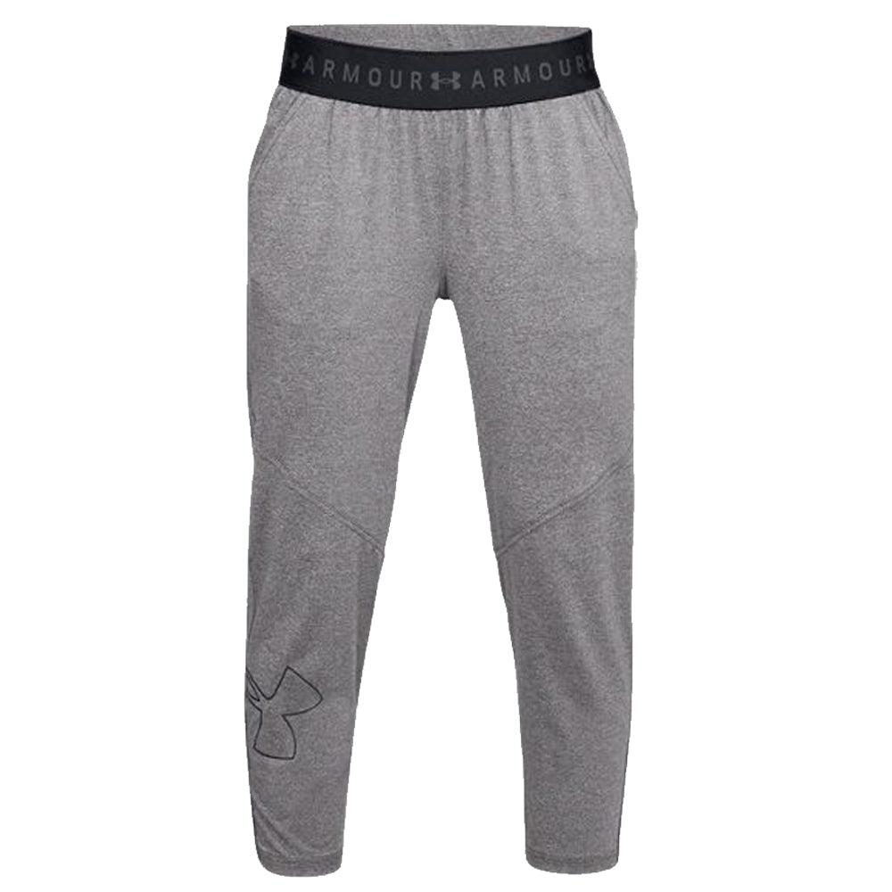 e59f3fb2cb6ef UNDER ARMOUR WOMEN'S ARMOUR SPORT GRAPHIC CROP PANT CHARCOAL LIGHT ...