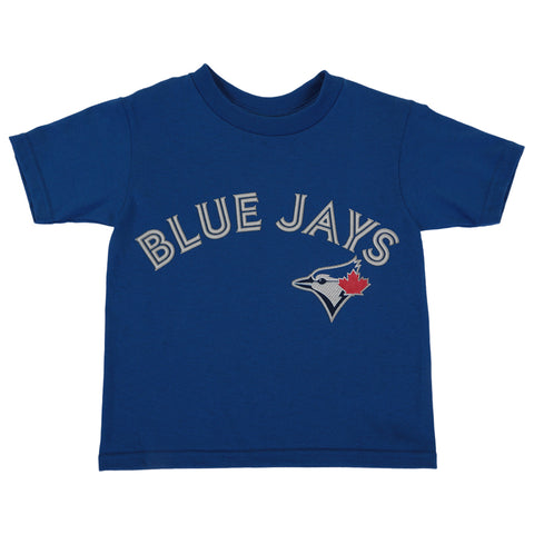 OUTERSTUFF TODDLER TORONTO BLUE JAYS GUERRERO JR SHORT SLEEVE PLAYERS TOP BLUE