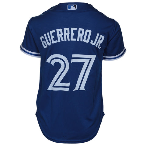 OUTERSTUFF YOUTH TORONTO BLUE JAYS ALTERNATE REPLICA JERSEY GUERRERO JR BLUE
