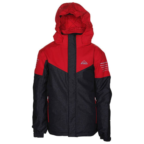MCKINLEY BOYS TOM V2. JACKET BLACK
