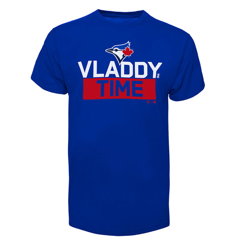 47 BRAND YOUTH TORONTO BLUE JAYS VLADDY TIME TEE BLUE