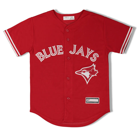 OUTERSTUFF YOUTH TORONTO BLUE JAYS ALTERNATE 2 REPLICA JERSEY RED