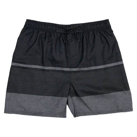 BURNSIDE BOY'S SWIM SHORT BLACK