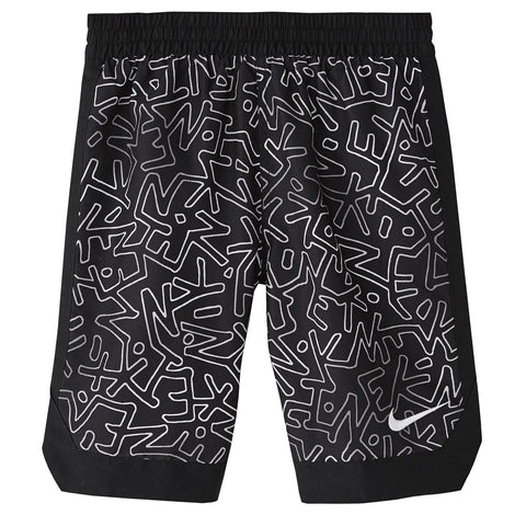 NIKE BOY'S 8 VOLLEY SHORT BLACK