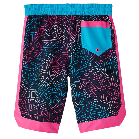 NIKE BOY'S 8 VOLLEY SHORT OBSIDIAN