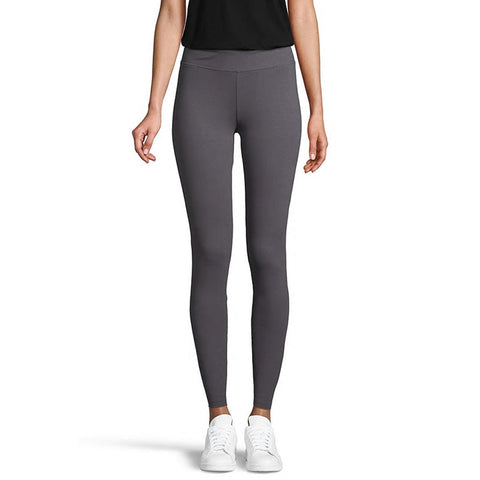 RIPZONE WOMEN'S BELLE SOLID LEGGING GREY PINSTRIPE