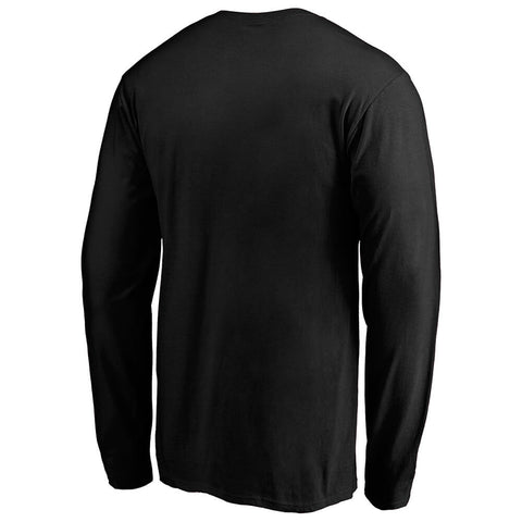 FANATICS MEN'S TORONTO RAPTORS ISO LONG SLEEVE TOP BLACK
