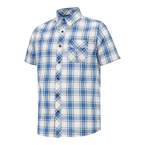 MCKINLEY MEN'S ASTRA PLAID SHORT SLEEVE TOP SKYDIVER