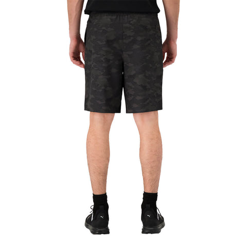 DIADORA MEN'S GAME CHANGER STRETCH WOVEN SHORT BLACK CAMO