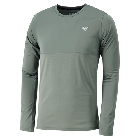 NEW BALANCE MEN'S ACCELERATE LONG SLEEVE TOP
