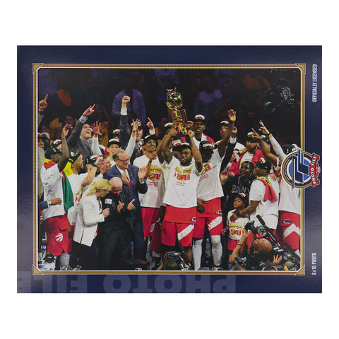 THE SPORTS COMPANY TORONTO RAPTORS NBA CHAMPS PICTURE TEAM CELEBRATION #2