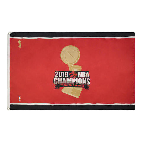 THE SPORTS VAULT TORONTO RAPTORS CHAMPIONS 3X5 FLAG