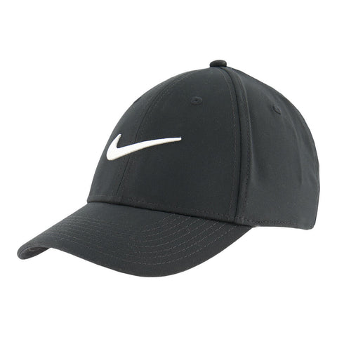 NIKE MEN'S DRY L91 SPORT CAP BLACK/WHITE