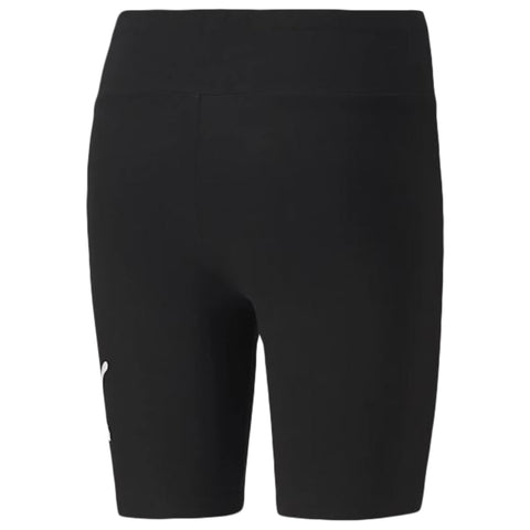 PUMA WOMEN'S ESSENTIAL 7 INCH SHORT TIGHT BLACK