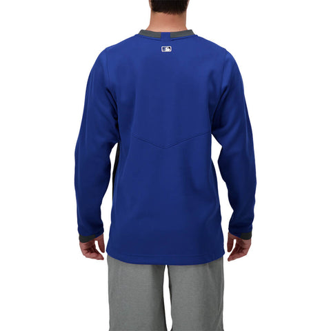 NIKE MEN'S TORONTO BLUE JAYS AUTHENTIC COLLECTION SHOWTIME DUGOUT THERMAL CREW