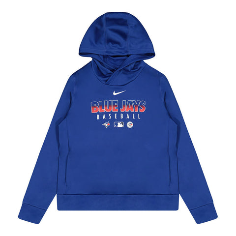 NIKE WOMEN'S TORONTO BLUE JAYS AUTHENTIC COLLECTION THERMA HOODY