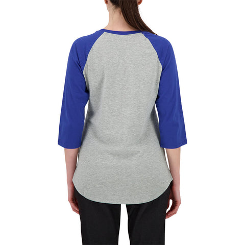 NIKE WOMEN'S TORONTO BLUE JAYS ENCIRCLED 3/4 SLEEVE TOP