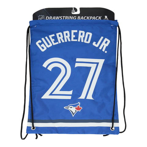 FOREVER COLLECTIBLES TORONTO BLUE JAYS PLAYER BAG GUERRERO JR. #27